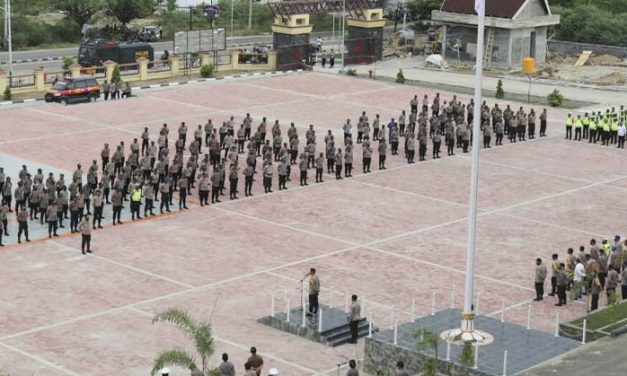 Pengamanan Malam Pergantian Tahun, Polda Sulteng Kerahkan 933 Personel