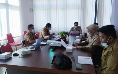 Pimpin Rapat Evaluasi DTKS, Sekda Zulfinasran Sampaikan Pernyataan Tegas
