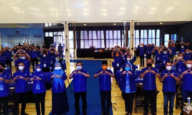 Terpilih Aklamasi , Anwar Hafid Nahkodai DPD Demokrat Sulteng Periode 2021 – 2025