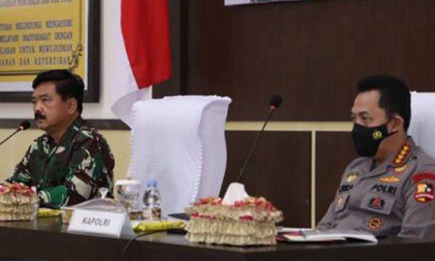 Kunker ke Poso dan Touna, Panglima TNI dan Kapolri Perkuat Sinergitas
