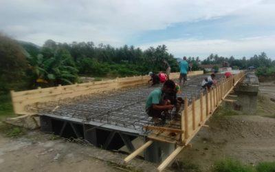 Pelaksana Pembangunan Jembatan Lemusa-Olobaru Akan Disanksi, Dinas PUPRP Parigi Moutong: Terjadi Keterlambatan