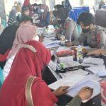 Unismuh Palu Gelar Gerakan Vaksinasi Masyarakat Merdeka Usai Dibuka Presiden Jokowi