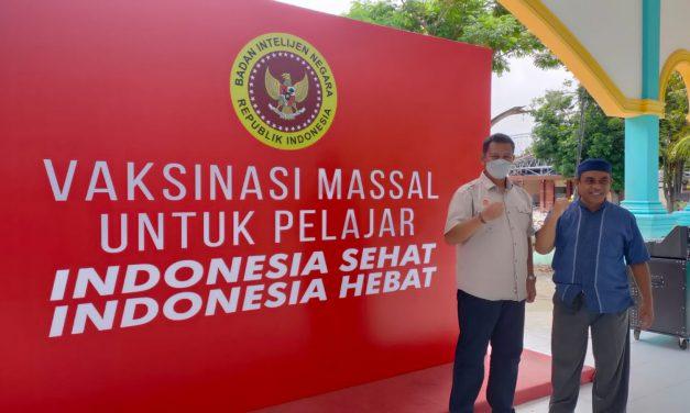 Gandeng Alkhairaat, BIN Vaksin 3.000 Santri di Sulawesi Tengah