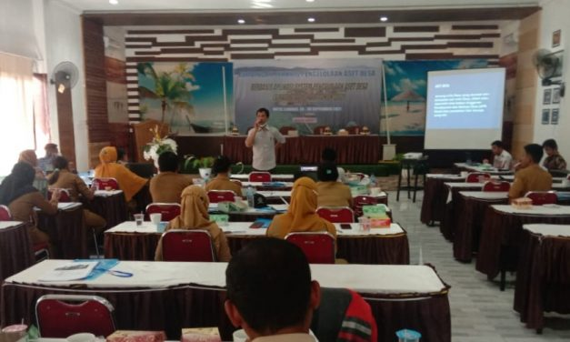 134 Desa di Touna Diberikan Bimtek Pengelolaan Aset Berbasis Aplikasi
