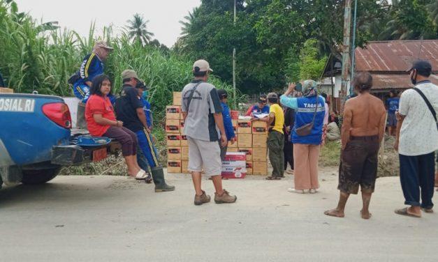 Banjir Malangga Hanyutkan 2 Rumah Warga