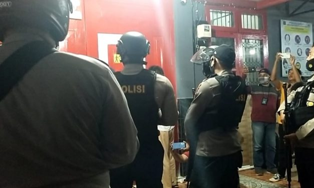 Pengamanan Pasca Kericuhan di Lapas Kelas III Parigi Libatkan 1 SSK Brimob Polda Sulteng