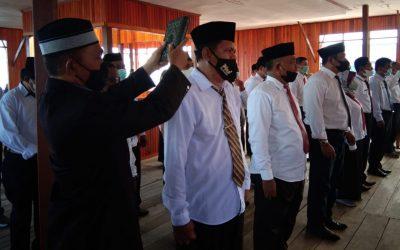Bupati Samsurizal Lantik 23 Pejabat Administrator dan Pengawas, Berikut Daftar Namanya